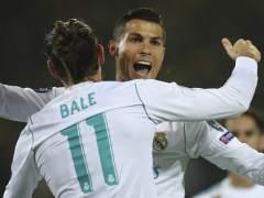 Cristiano y Bale dan al Madrid una gran victoria en Dortmund