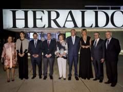 Ana Santos, Susanna Griso y Alain Rousset reciben los premios Heraldo