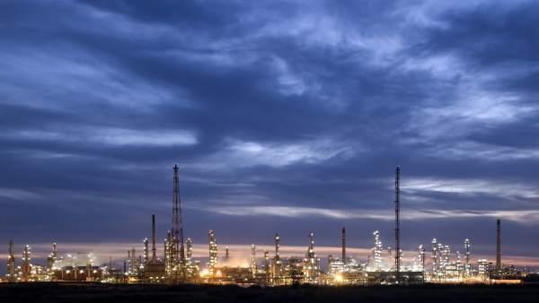 La planta química de Cepsa en Palos de la Frontera.