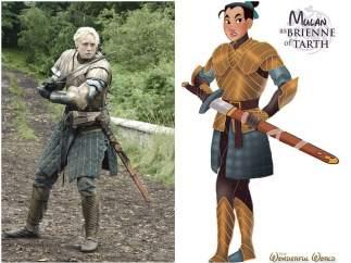 Brienne de Tarth (Mulan)