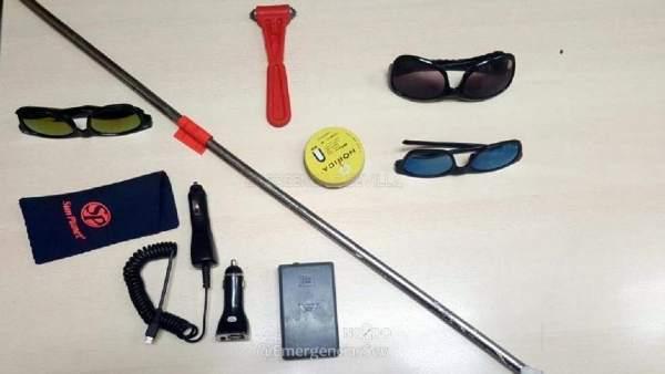 Detenido por robar en varios coches de Bami (Sevilla)