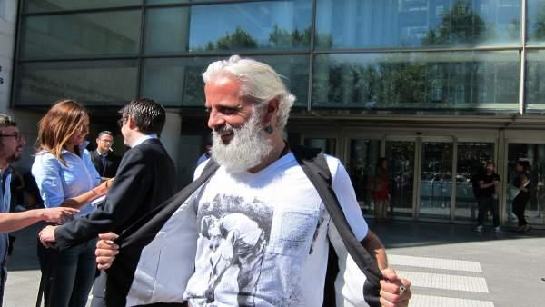 Marcos Benavent en la Ciudad de la Justicia