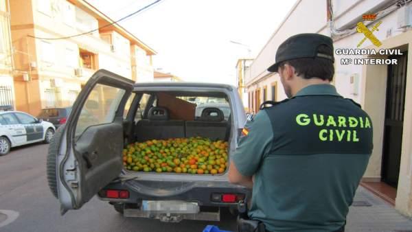Remitiendo Np Opc Huelva 'La Guardia Civil Detiene A Tres Personas Y Recupera 50
