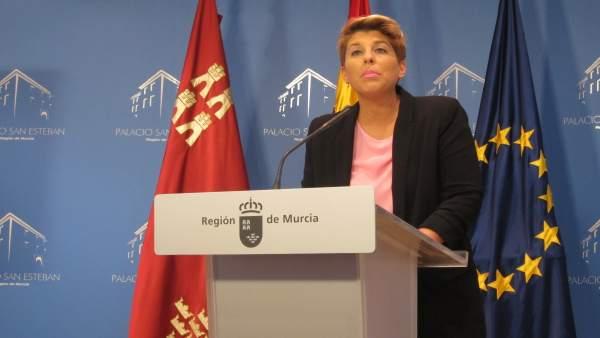 La consejera Noelia Arroyo comparece tras Consejo