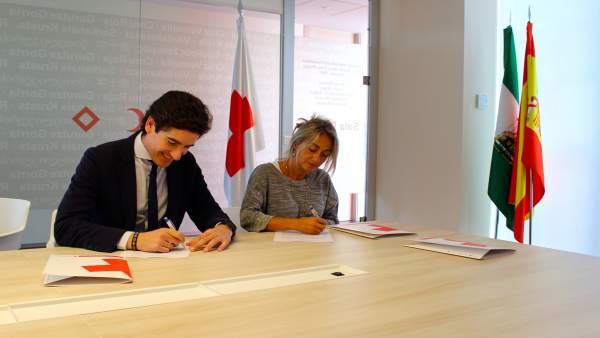 Ruiz y López firman el convenio de colaboración