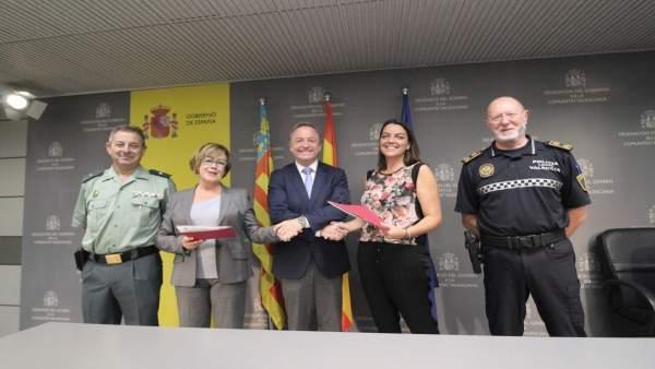 La Policia Local de València cedeix la vigilància i seguretat de la V-30 i V-15 a la Guàrdia Civil
