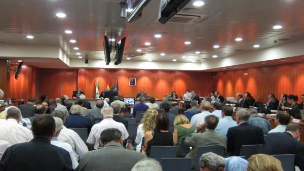 Un momento del juicio del caso 'Malaya'