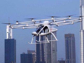 Volocopter, aeronave que volará en Dubai