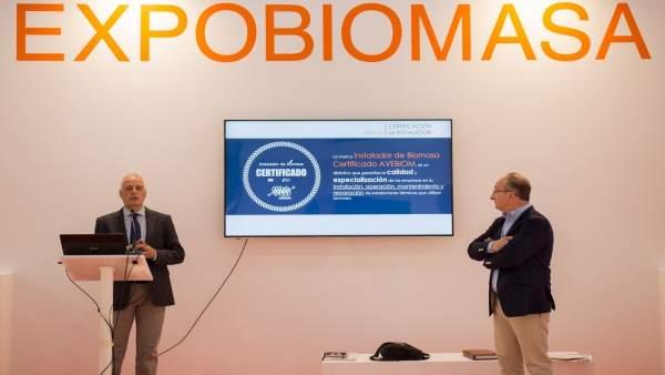 Presentación en Expobiomasa