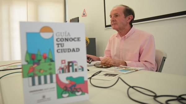 El concejal delegado de Movilidad, Educación e Infancia, Andrés Pino