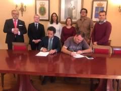 Firma del Convenio entre ICA y Mancomunidades