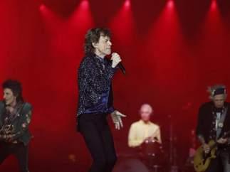 Jagger, en un momento del concierto