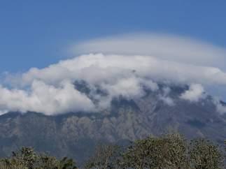 Volcán Agung, en Bali.