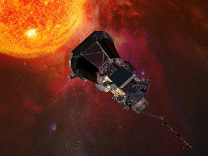 Escudo térmico para la sonda solar
