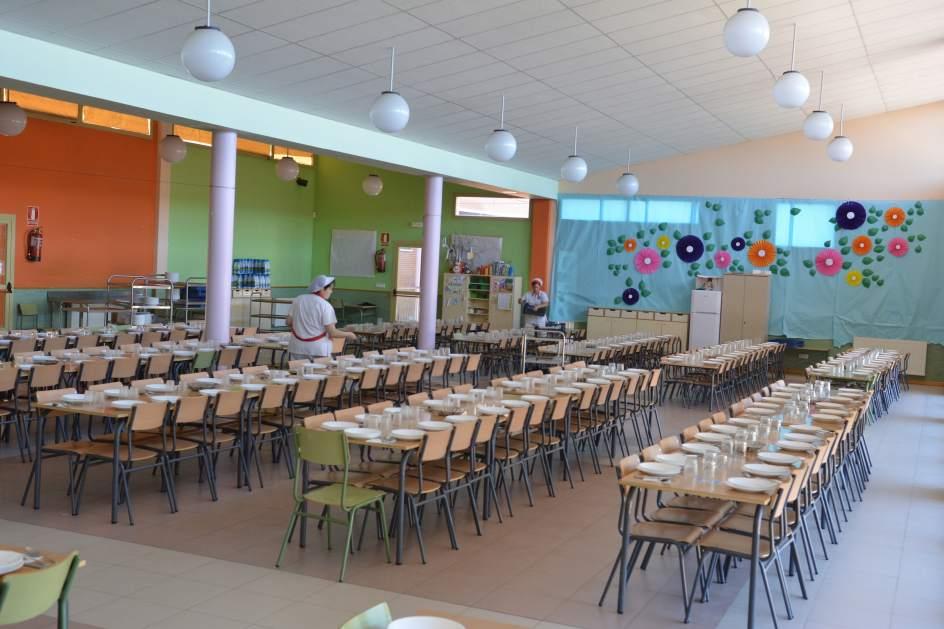 Comedores Escolares De Cyl Han Reducido Un 25 Por Ciento