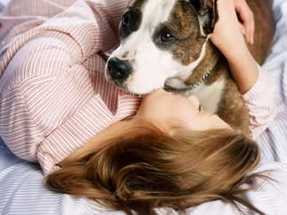 Dormir con perros