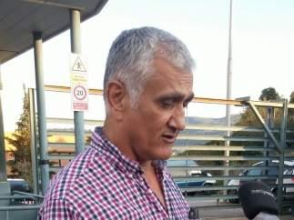 El periodista turco-sueco Hamza Yalçin