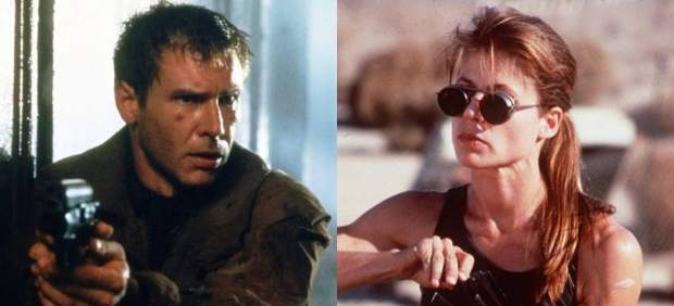 Harrison Ford y Linda Hamilton