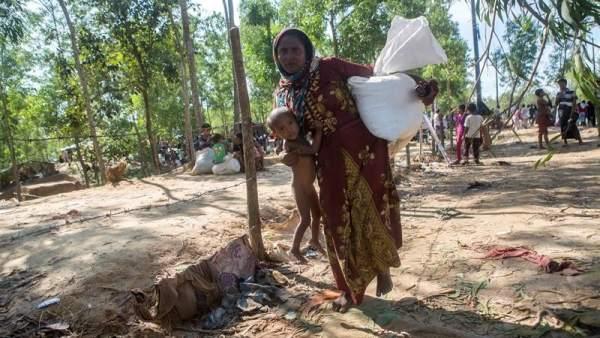 Refugiados rohinyá en Bangladés