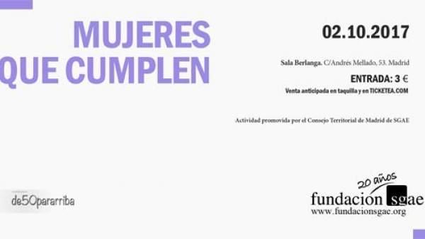 Cartel de 'Mujeres que cumplen'