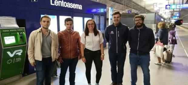 Estudiantes de la UJA en Finlandia