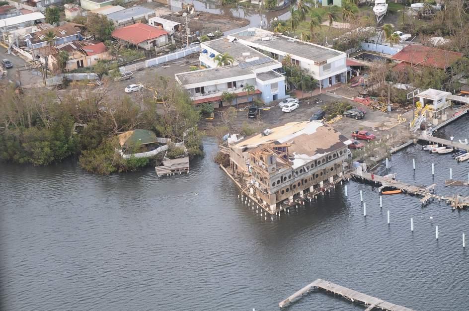 Desciende a el n mero de refugiados tras el paso del - Puerto rico huracan maria ...