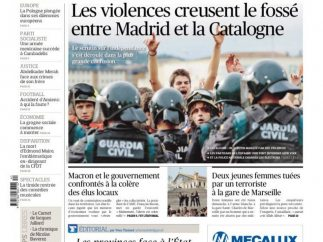"""La violencia ensancha la brecha"""