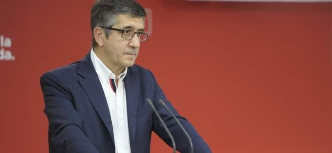El secretario de Política Federal del PSOE, Patxi López.