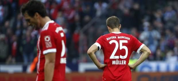 Müller y Hummels, del Bayern