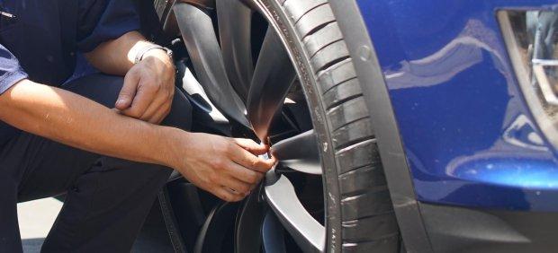 Neumático con sensores