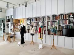 Interior del estudio del diseñador Yves Saint Laurent