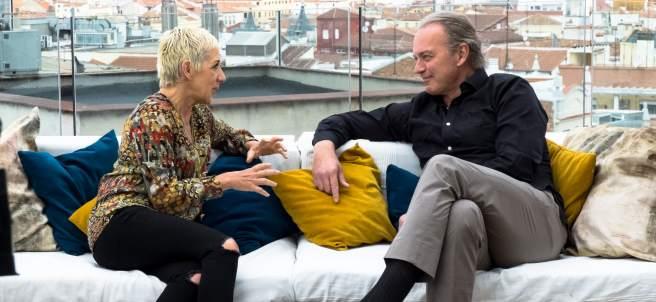 Ana Torroja y Bertín Osborne