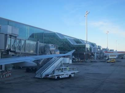 T1 del Aeropuerto de Barcelona El Prat.