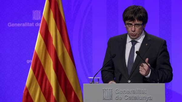 Los siguientes pasos del president Puigdemont hacia la independencia de Cataluña