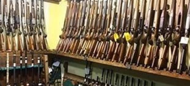 Rifles de la armería
