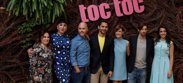 El reparto de 'Toc Toc': «La risa tiene como primera consecuencia la empatía»