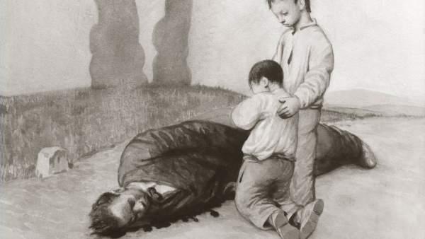 A derradeira lección do mestre, 1937 (La última lección del maestro)