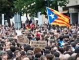 manifestación Girona