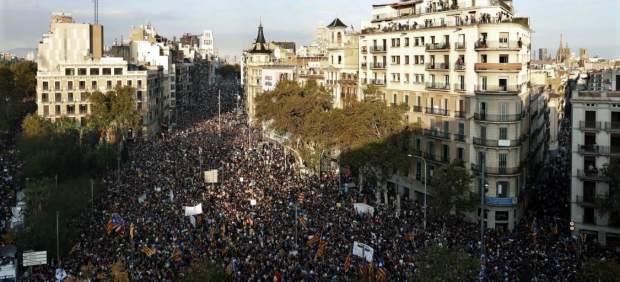 Manifestación en Barcelona el 3-O