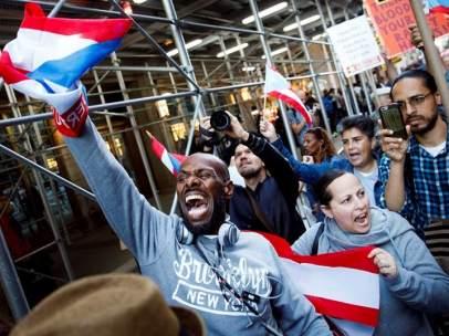 Manifestación por Puerto Rico