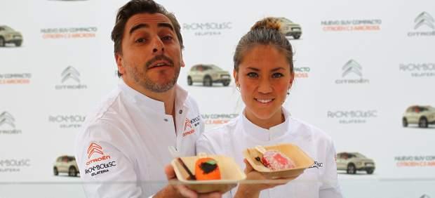 Jordi Roca y Alejandra Rivas