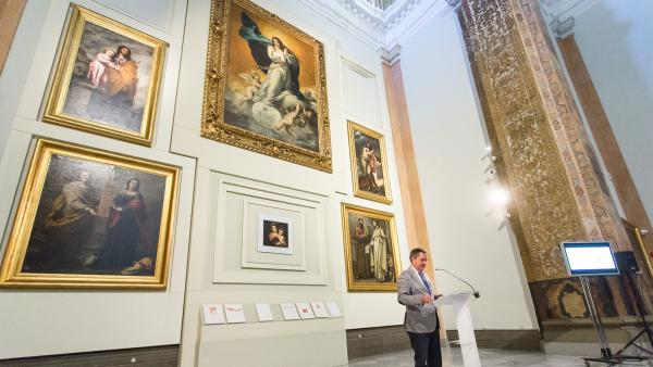 Presentación del programa 'Murillo y Sevilla. 400 años del nacimiento de un pintor universal'