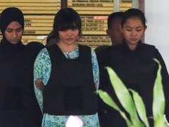 Las acusadas de matar al hermano de Kim Jong-un