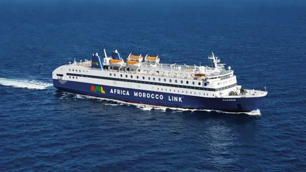 Ferry 'Diágoras' de AML