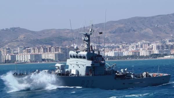 Patrullero de la Armada 'Tagomago'