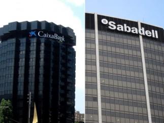 Caixabank y Sabadell