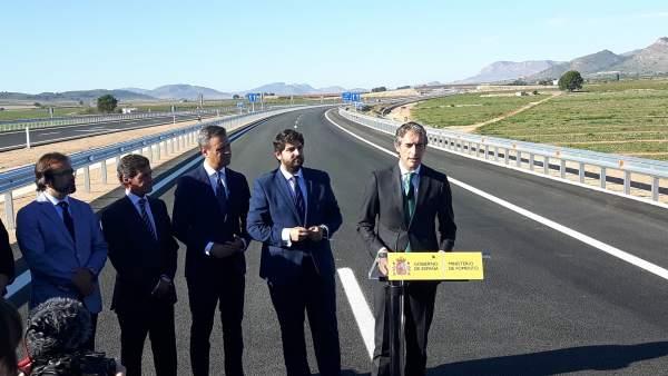 Inauguración autovía