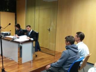Vista oral a los dos acusados de matar a 79 lechones en Almería