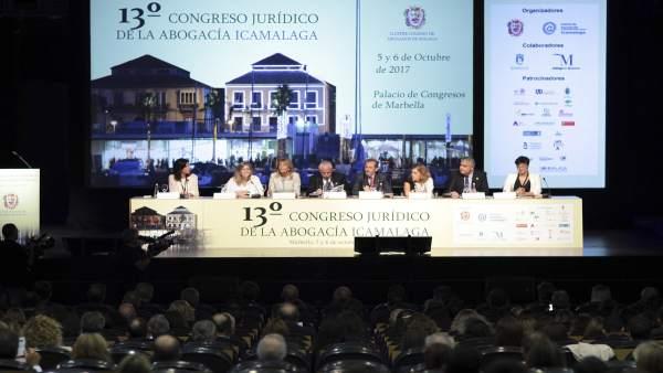 Inauguración del congreso de la abogacía 2017