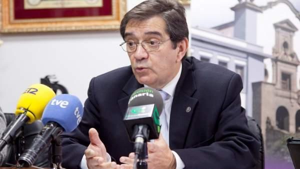 Martinón, en rueda de prensa